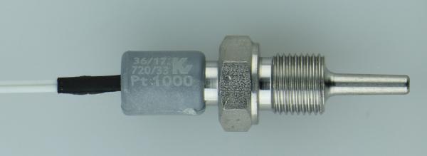 Pt1000 Einschraubfühler mit Kabel