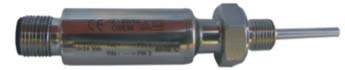 mit Edelstahl umhüllter Messumformer 4-20 mA integriert in Pt100 Einschraubfühler