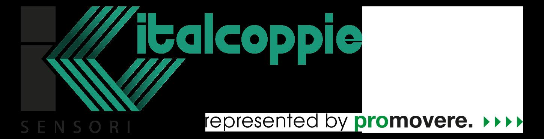 Logo von Italcoppie, einem führenden Hersteller von Einschraubfühlern für die Temperaturmessung